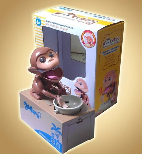 Monkey money box