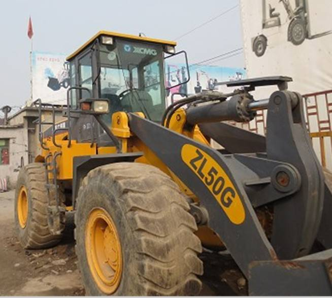 USED XCMG WHEEL LOADER ZL50G/GOOD CONDITION FOR SALE