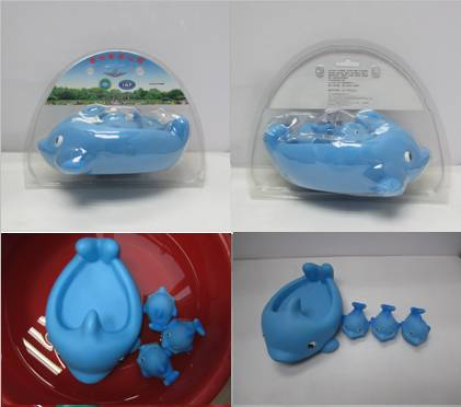 gift dolphin animal  figures set