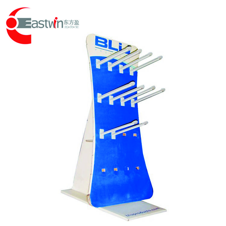 Wholesale Fancy durable cardboard display shelf