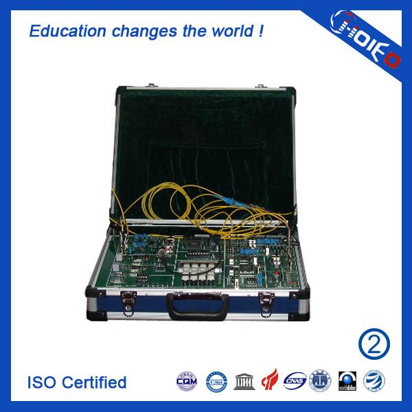 Optical Fiber Communication Experiment System,Vocational Trainer for School Lab,Skills Learning Trai