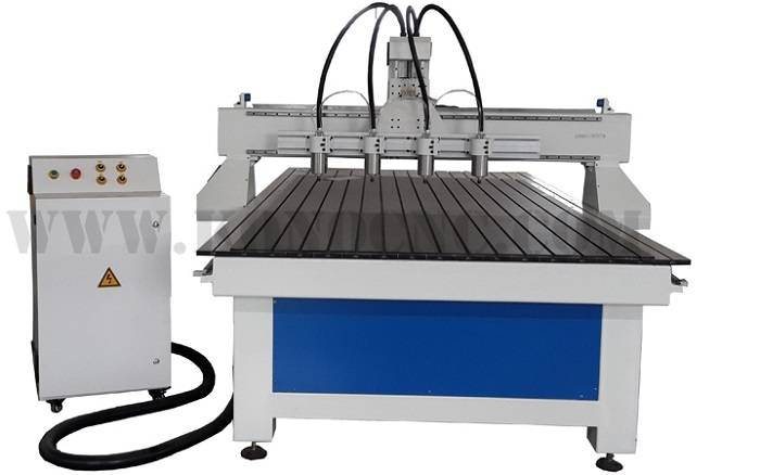 4 spindles cnc router machine 1325-1-4