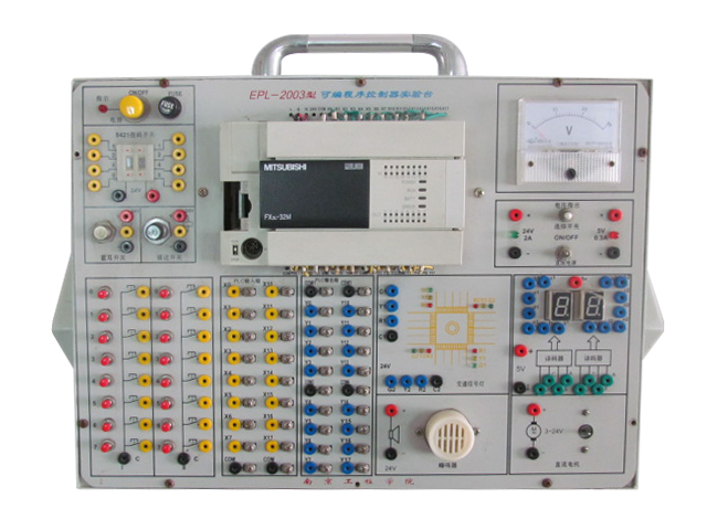 Portable Hands-on PLC Test Bench