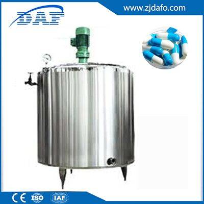 500L medicine Electric heating Thick and thin batching tank