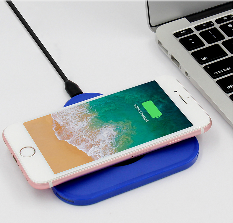 Qi Wireless phone Charger Charging for iphone mobile