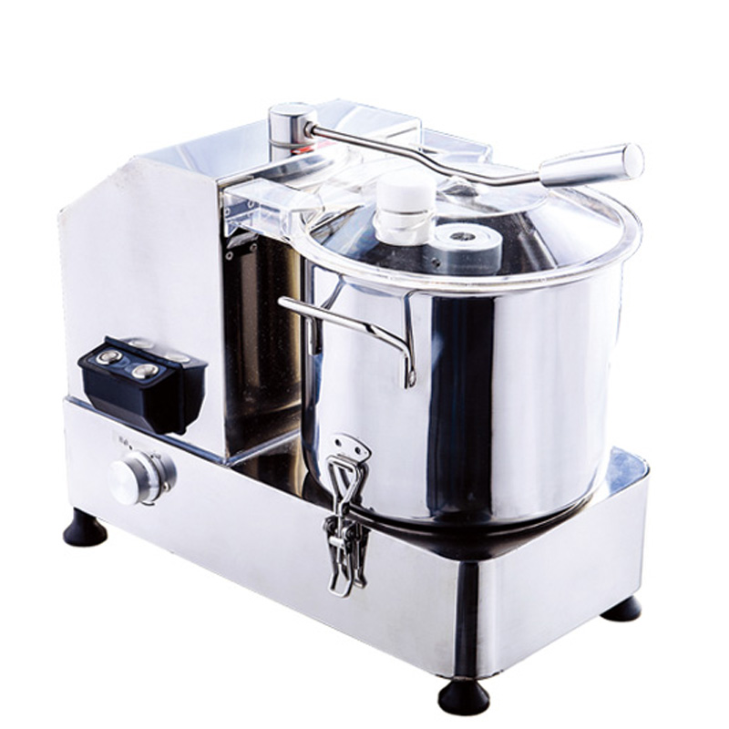 Kitchen Vegetable Cutting Machine , Commercial Vegetable Chopper 9L Capacity