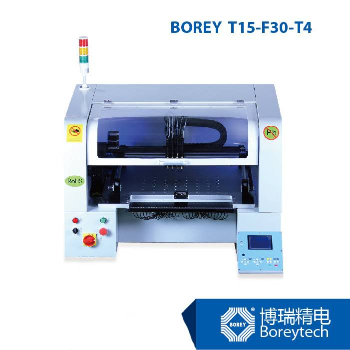 BOREY T15-F30-T4 Benchtop SMT Pick and Place Equipment