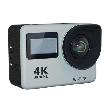 2 inch touch display action camcorder 4K 30M waterproof WIFI connection Ultra HD cam