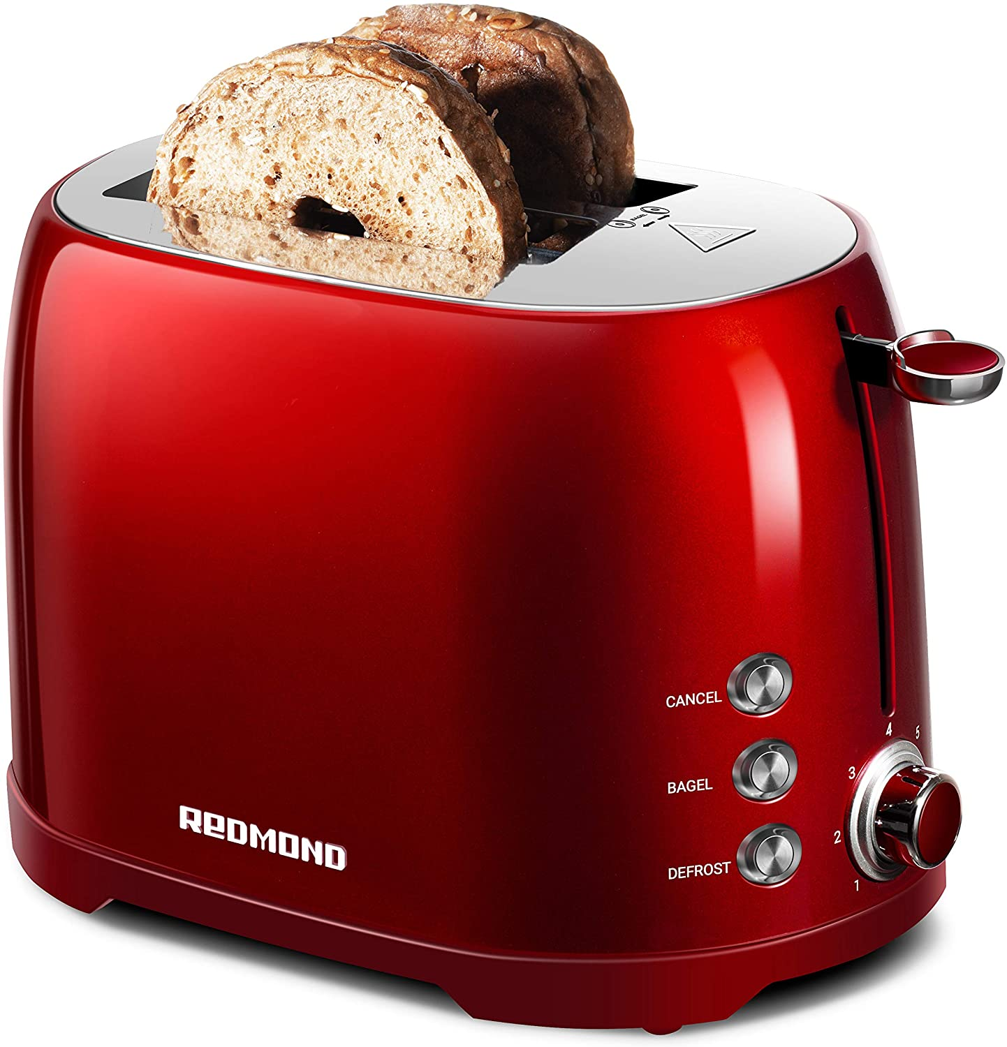 2 Slice Toaster with 50s Retro Aesthetic ST032 7 Browning Shade Settings