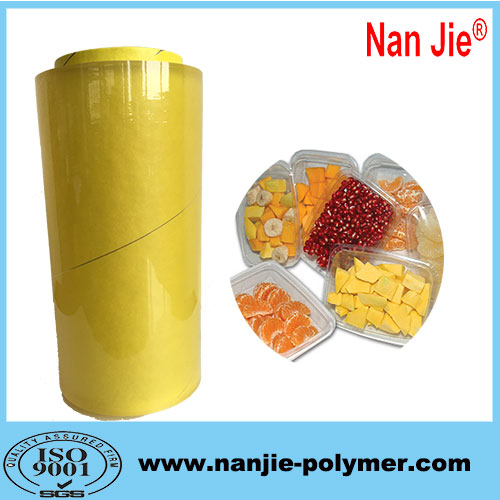 Nan Jie food grade pvc stretch film long meter for sale