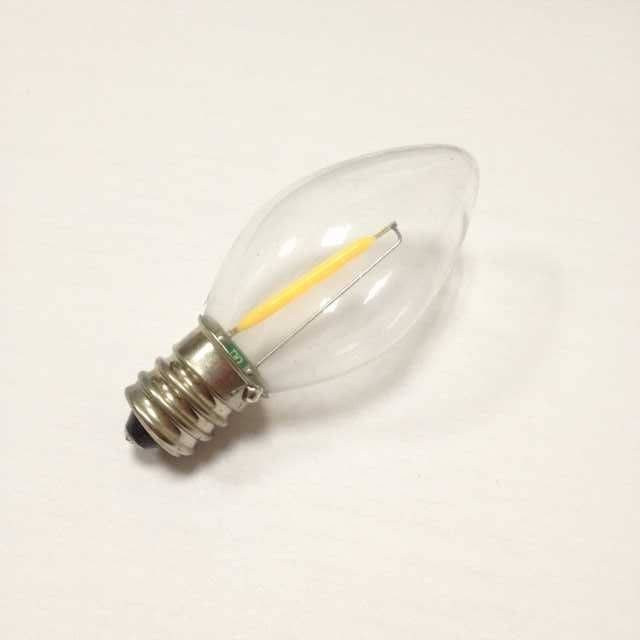 samll candle bulb C7 led lighting filament led bulb