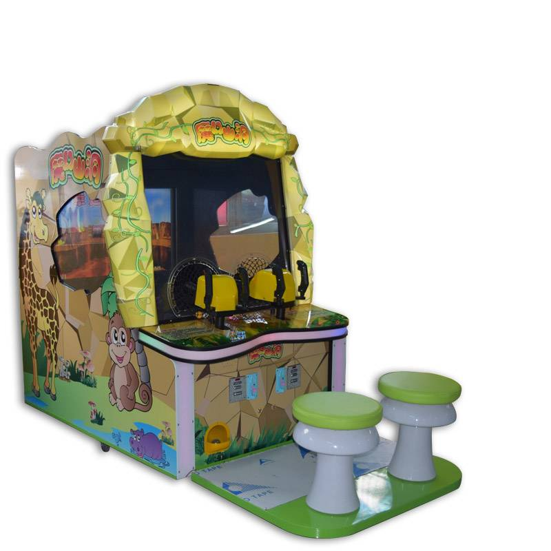 Electric coin operated arcade magic cave ball shooting game machine supplier&exporter