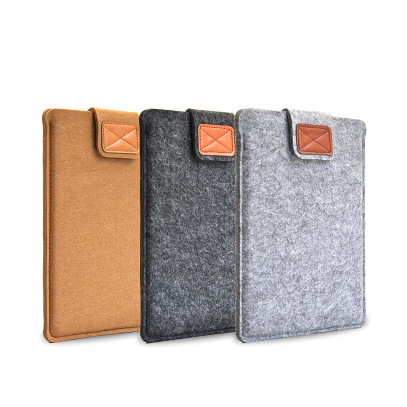 Fashion felt tablet case