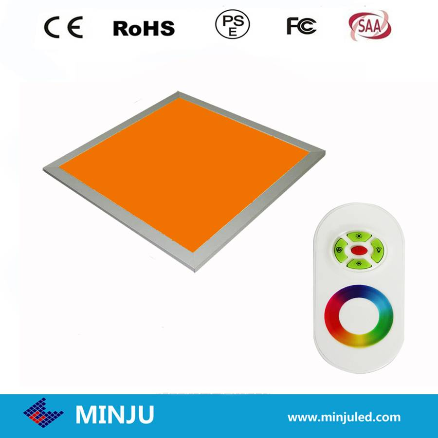 600*600*12mm white or RGB color dimmable LED panel