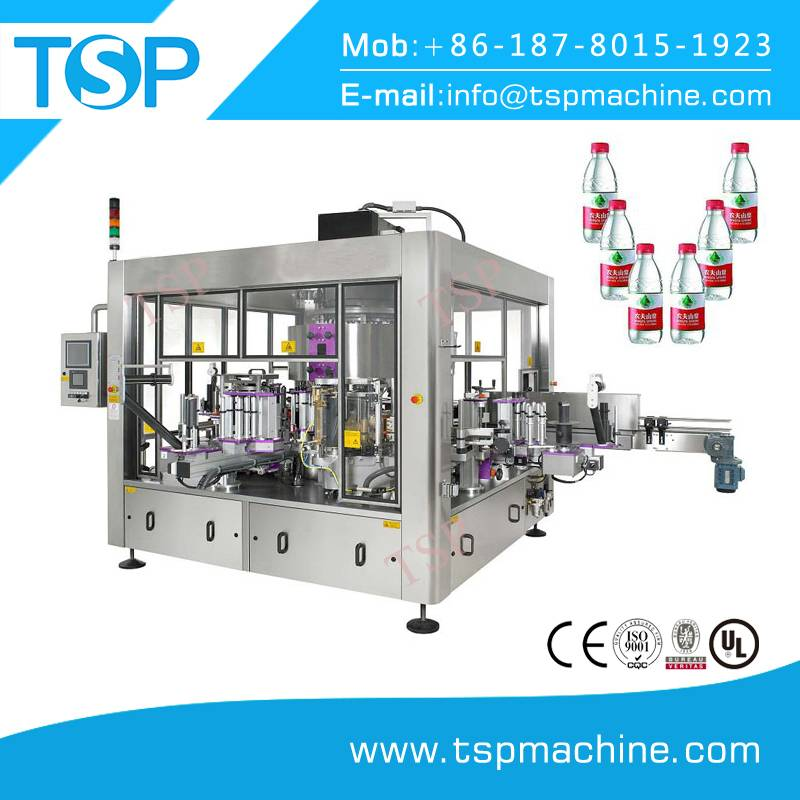 Automatic High Speed Linear OPP Hot Melt Glue Labeling Machine