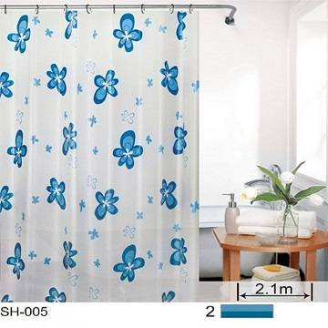 PEVA shower curtain SH-005