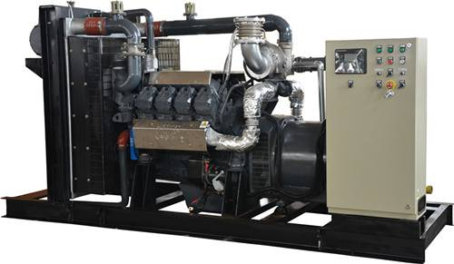 CE pproved 300KW biogas/natural gas generator