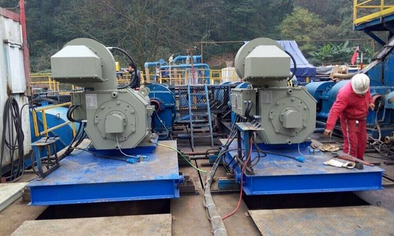 """Replacing Fuel by Electricity"" SCR Equipments for  Semi-Electric and Mechanical Drilling Rigs"