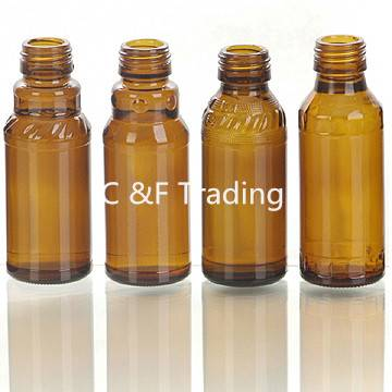 Amber Glass Bottles for Syrups