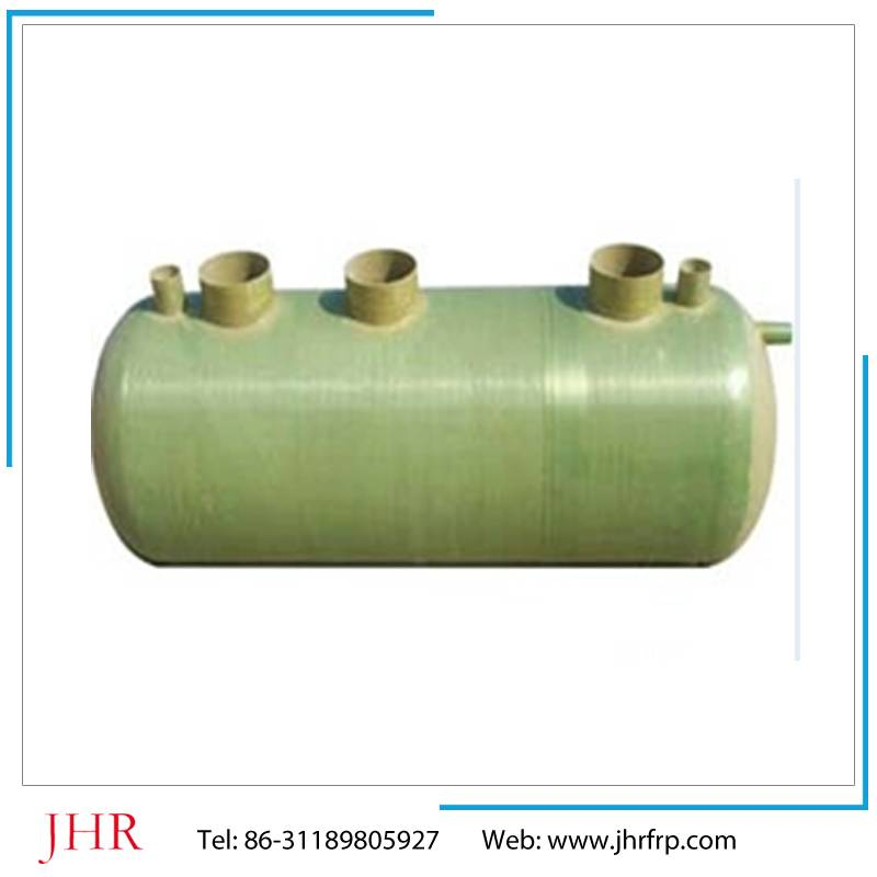 Sewer system frp septic tank
