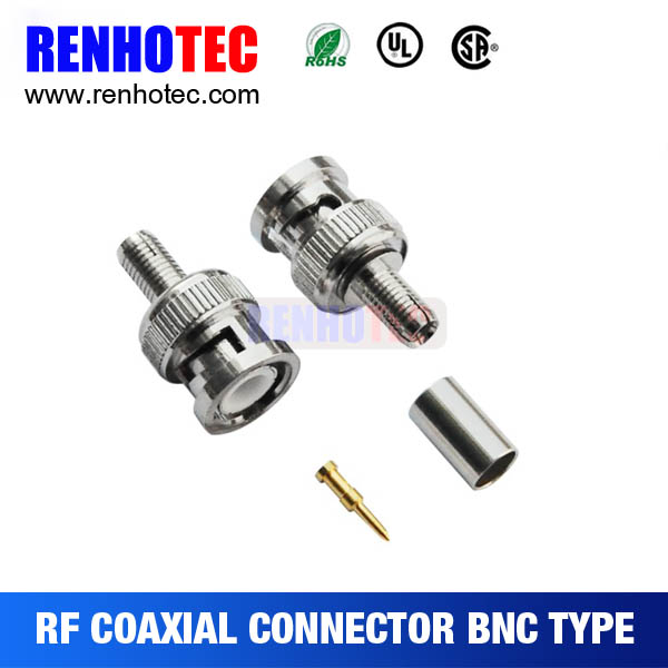 straight bnc male connector