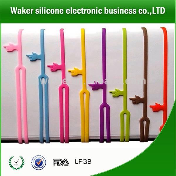 silicone book marks