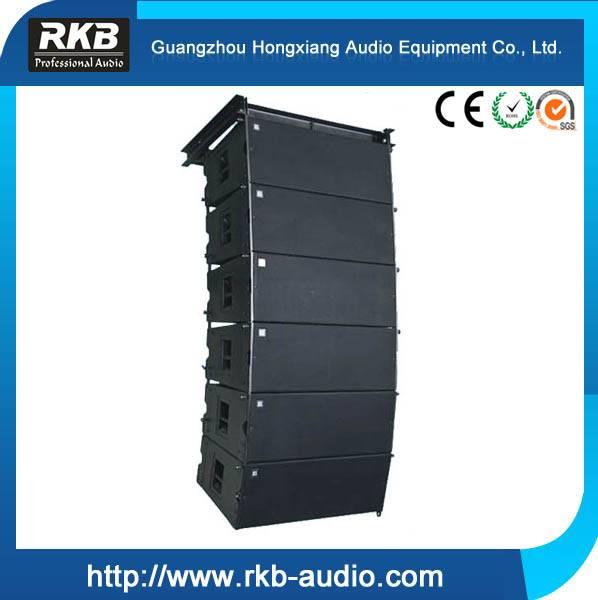 "Portable Church Sound System 2x12"" Three - way 800W RMS Line Array Speaker"