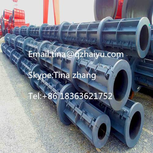 electric concrete poles making machinery