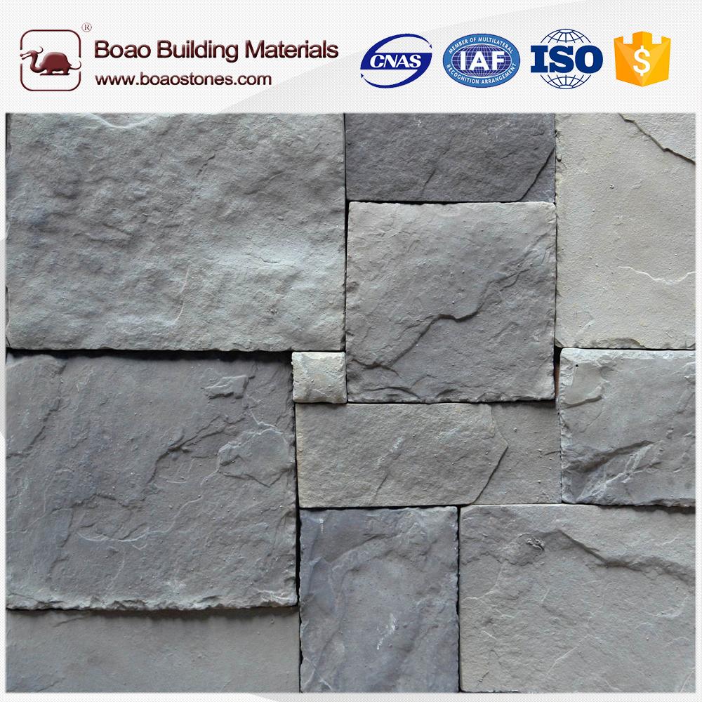 Decorative artificial castle stone wall cladding veneer