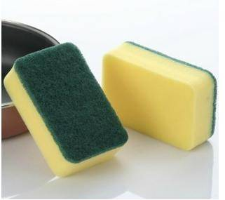 Medium Duty Sponge Scouring Pad, Household Cleaning Sponge Scourer