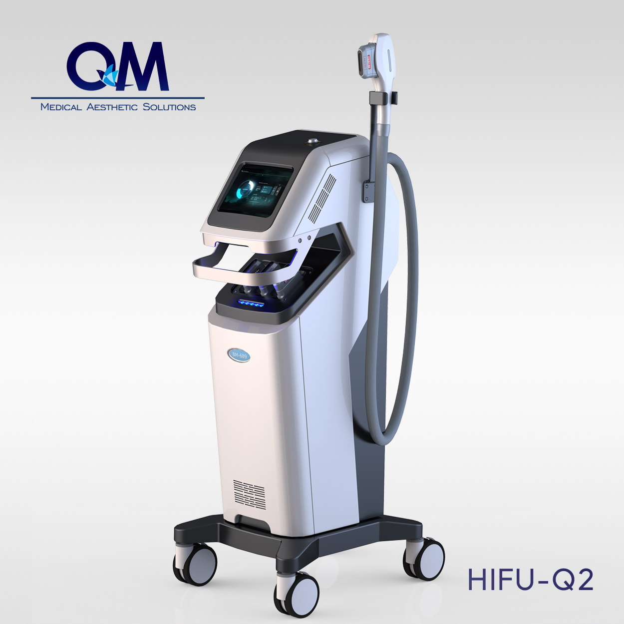 Vertical HIFU Skin Anti-aging Sysem HIFU -Q2 (Korea Version)
