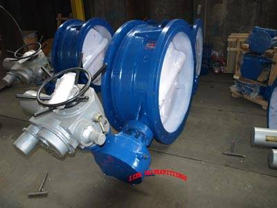 Wafer metal seat Butterfly valve