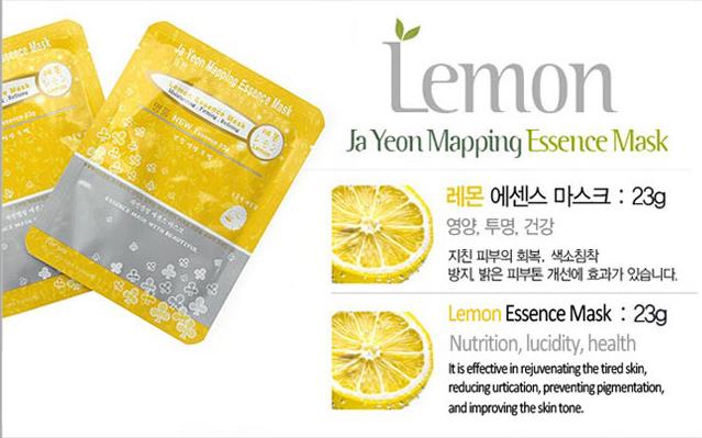 Lemon Essence Mask 23g, Face Mask, Mask pack