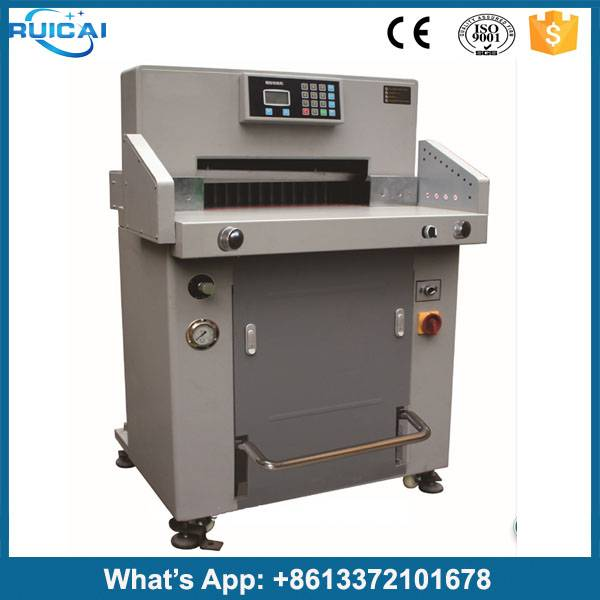 China Professional Manufacturer Small Digital control Office equipment Paper Cutting Machine