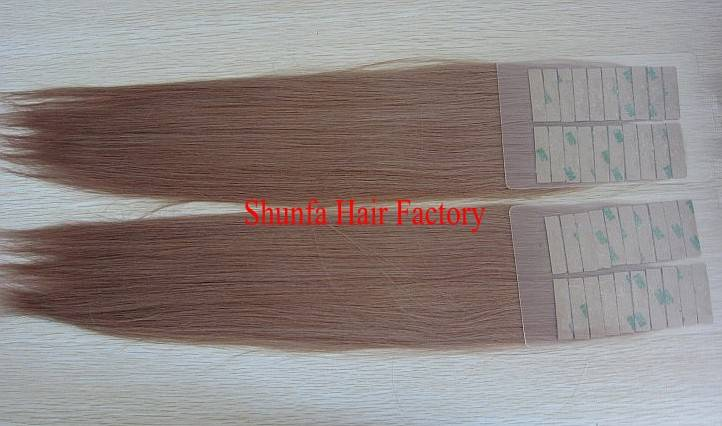 widely used easy to attach hair extensions skin wefts