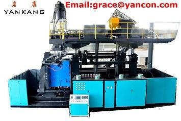 Plastic product blow molding machine