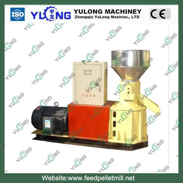 100-200kg/h wood shaving pellet mill machine