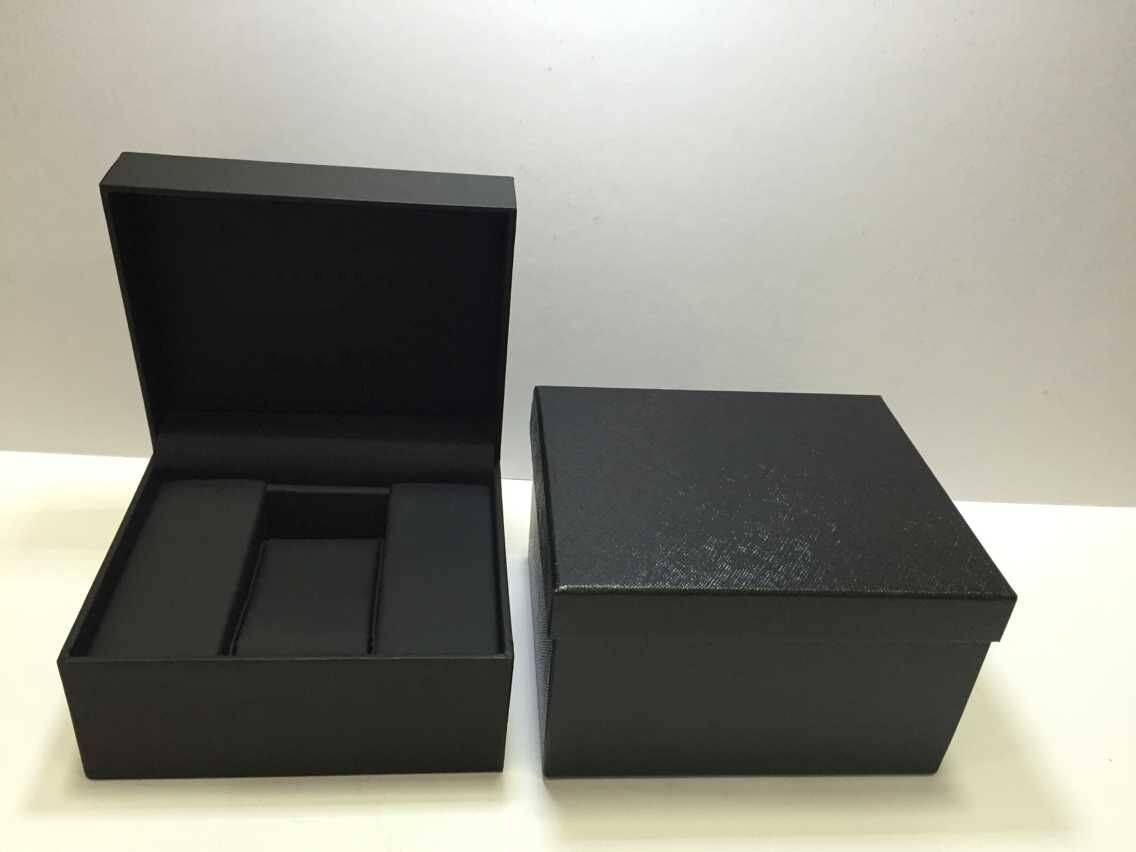 Artificial leather watch box