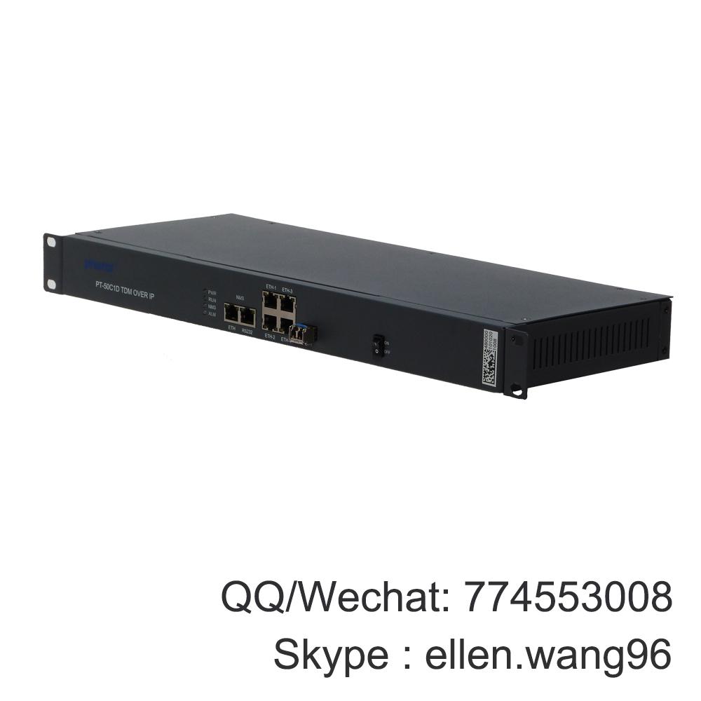 TDMoIP, 4E1 over Ethernet converter, E1 over Ethernet