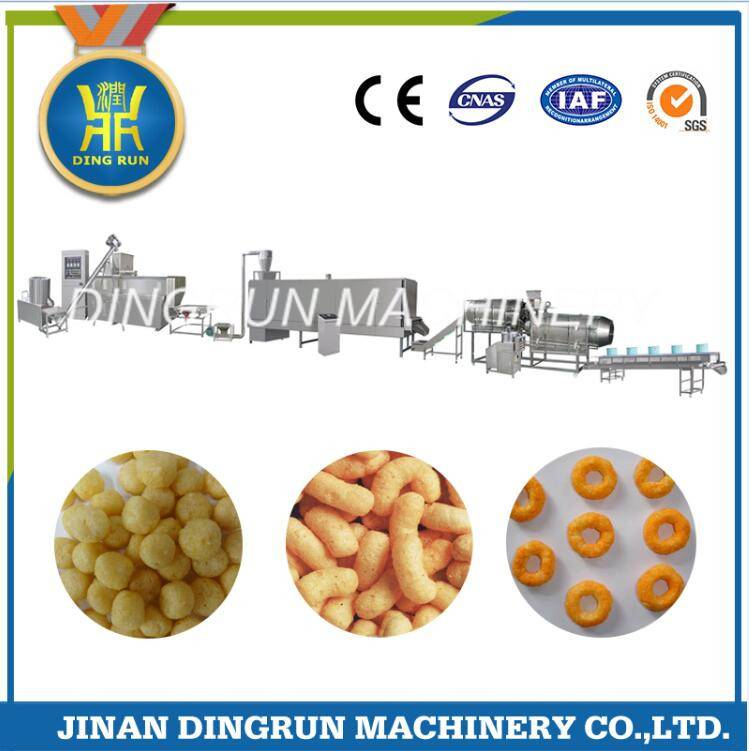 snacks food production machinery / snacks food production line