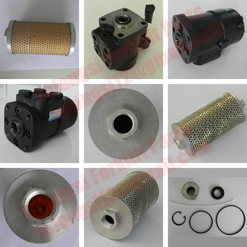 Hydraulic system forklift parts