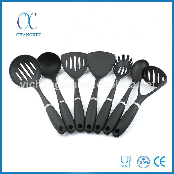 Best Selling Food Grade 7 Pieces Nylon Cooking Ware Set