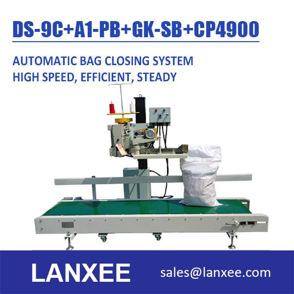 Lanxee Industrial Bag Closing Machine System