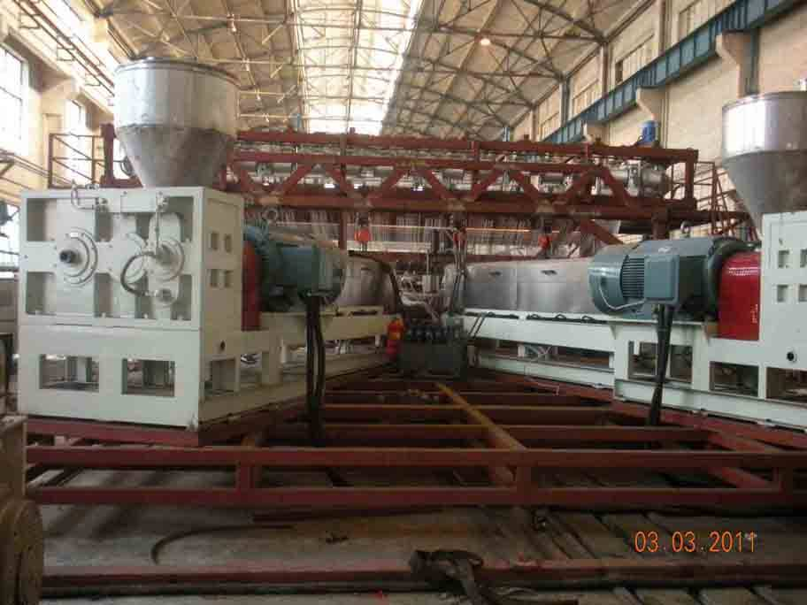 HDPE Geomembrane production line