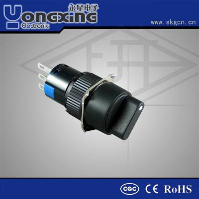 PA66 black rectangle rotary encoder switch