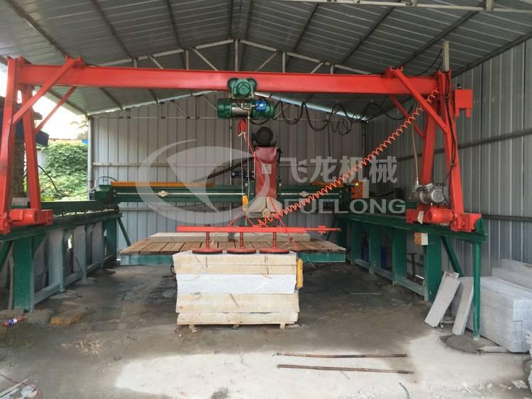 Infrared stone cutting machine