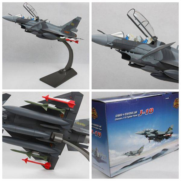 1:30 Chinese J-10 Figther Plane Model