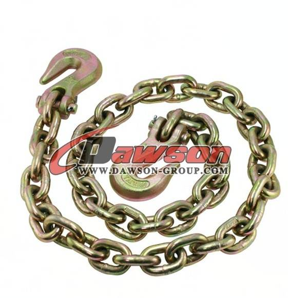 Grade 70 Transport Chain with Cradle Grabe Hooks
