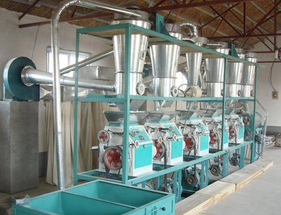 14T-20T 6FTS Series horizontal structure of flour producing equipment