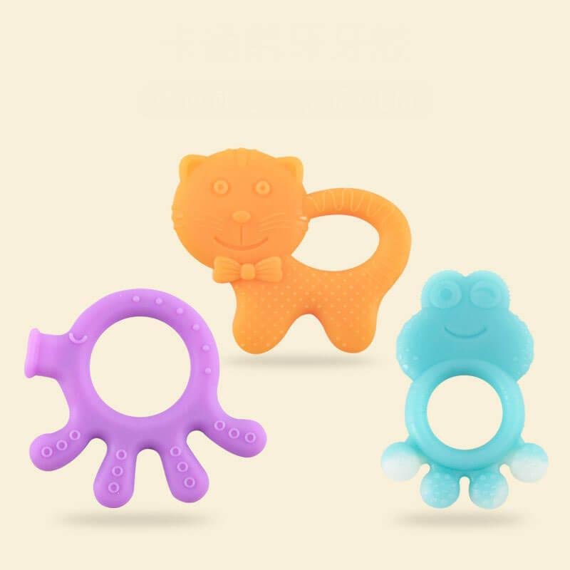 Eco-friendly Silicone Molar Teething Toy